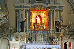 Altar in church Stock Photos