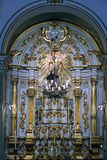 Altar of the Church of the Seraphic Father St. Francis in Sao Pa Stock Photos