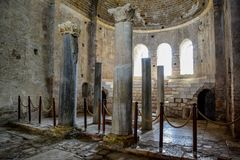 Altar of Church of St. Nicholas the Baptist miracle worker in Demre, Turkey. Altar of the Church of St. Nicholas the Baptist miracle worker in Demre, Turkey stock photo