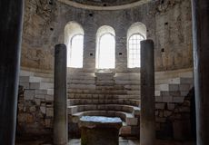 Altar of Church of St. Nicholas the Baptist miracle worker in Demre, Turkey. Altar of the Church of St. Nicholas the Baptist miracle worker in Demre, Turkey stock images