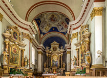 Altar in church of St.Peter and Paul in Sesto Stock Photography