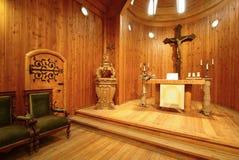 Altar in church Wang Royalty Free Stock Photo