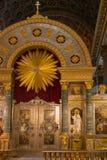 Altar da catedral de Kazan Imagens de Stock Royalty Free