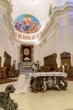 Altar da catedral de Noto fotografia de stock royalty free