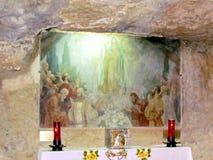 Altar da gruta de Gethsemane do Jerusalém da suposição 2012 Imagens de Stock Royalty Free