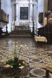 Altar da igreja Imagens de Stock Royalty Free