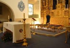 Altar da igreja Foto de Stock