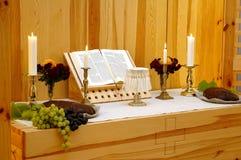 Altar da igreja da acção de graças Imagem de Stock Royalty Free