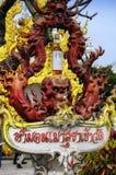Altar da oração de Wat Rong Khun Fotos de Stock Royalty Free