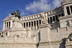 Altar da pátria, praça Venezia, Roma, Itália Imagens de Stock