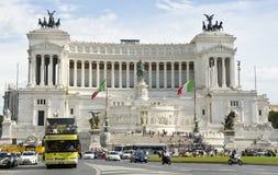 Altar da pátria, Roma, Italia fotografia de stock royalty free