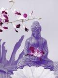Altar de Buddha Imagens de Stock Royalty Free