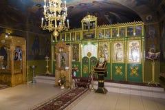 Altar de Chruch Fotografía de archivo
