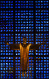 Altar de Kaiser Wilhelm Memorial Foto de Stock Royalty Free