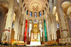 Basílica de Sainte-Anne-de-Beaupre, Quebec Imagenes de archivo