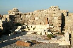 Altar de la basílica del siglo V Isla de Kos Imágenes de archivo libres de regalías