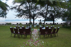 Altar de la boda Fotografía de archivo