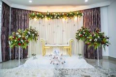 Altar de la boda Foto de archivo