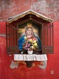Altar de la calle en Venecia Imágenes de archivo libres de regalías