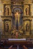 Altar de la capilla del St John Evangelist College Church Fotos de archivo libres de regalías