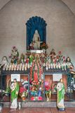 Altar de la capilla de San Xavier Del Bac Mission, Tucson Arizona Fotografía de archivo libre de regalías