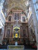 Altar de la catedral de Codobra Imagen de archivo libre de regalías