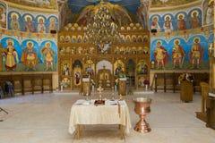 Altar de la iglesia Imagen de archivo