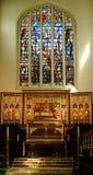 Altar de la iglesia del St Margarets imágenes de archivo libres de regalías