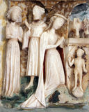 Altar de la Virgen María Imagenes de archivo