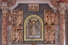 Altar de la Virgen María Imagen de archivo