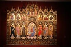 Altar de la Virgen y del niño Fotos de archivo libres de regalías