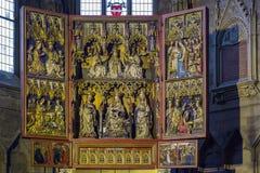 Altar de Neustadt de la salchicha de Frankfurt Fotografía de archivo