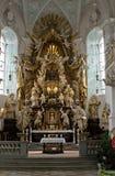 Altar de Rokkoko del neumann de Balthasar Imágenes de archivo libres de regalías