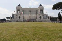Altar de Roma de la patria Imagen de archivo