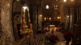Altar de San Luca Church vídeos de arquivo