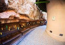 Altar de Santa Maria de Montserrat Catalonia, España Foto de archivo libre de regalías