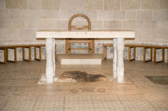 Altar de Tabgha Foto de archivo