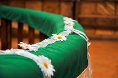 Altar decorado Fotos de Stock Royalty Free