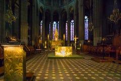 Altar del templo Foto de archivo libre de regalías