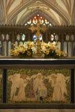 Altar in der Bristol-Kathedrale Stockfoto