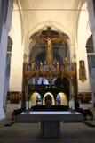 Altar in der Kathedrale von LÃ-¼ Kessel Lizenzfreie Stockfotos