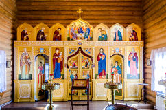 Altar der Kirche Lizenzfreie Stockbilder
