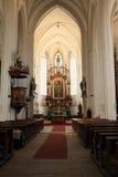 Altar der Kirche der Annahme Lizenzfreie Stockbilder