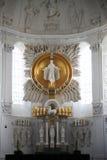 Altar in der Würzburg-Kathedrale Lizenzfreies Stockfoto