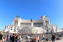 Altar des Vaterlands, Rom lizenzfreies stockbild