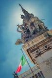 Altar des Vaterlands, Rom Stockfotos
