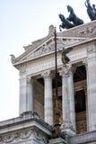Altar des Vaterlandtempels (Marktplatz Venezia - Rom) Stockbilder