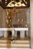 Altar, die Kirche der Ankündigung, Nazaret, Israel stockbild