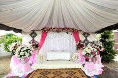 Altar do casamento Fotografia de Stock Royalty Free