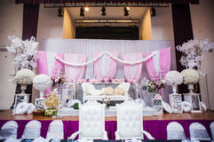 Altar do casamento fotos de stock royalty free